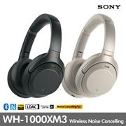Sony 索尼 WH-1000XM3無線降噪耳機 / 藍牙 / 語音助手 / 快速充電