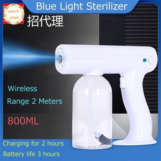 [S$55.58](▼50%)wireless fogging machine blue light nano spray gun disinfectant machine spray machine