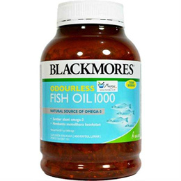 Blackmores Odourless Fish Oil 1000 mg - Fill 400 Soft Capsules