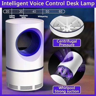 ★New ★2019★Purple Vortex USB Mosquito UV Lamp Mosquito Repellent Mosquito  Killer Lamp Insect Trap