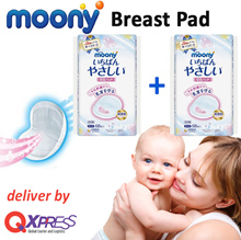 [MOONY] Nursing Pad/ Breast Pad 68s **Twin Pack** FREE UPGRADE TO QXPRESS- Japan made breathable pad