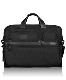 Tumi Unisex Alpha 2 - Compact Large Screen Laptop Brief