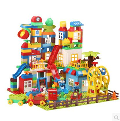 Huimei Compatible Lego blocks assembled large particles 1-2-4 girls 3-6 years old boy