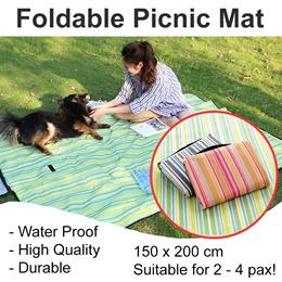 *Upgraded* Picnic Mat PVC Coating/ Waterproof/ Beach Blanket/ Baby Mat/ Outdoor/ Sporty 150 x 200CM