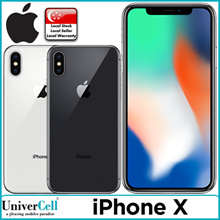 Apple iPhone X Smartphone / 64GB|256GB ROM / Telco Set with Local Warranty
