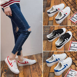 wild white canvas sport shoes female Korean student adidas puma keds  sneakers f16bb6684
