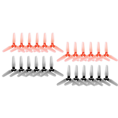 12 Pairs EMAX AVAN Mini 3 Inch 3-blade Transparent Propellers CW CCW for  1106 Motor RC Racing Drone