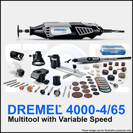 Dremel 4000 -6/50 Rotary Corded Tool Comes with 65 accessories