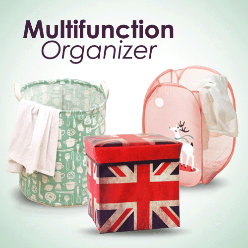 Storage Bag Ukuran Jumbo / Organizer Multifunction Deals for only Rp15.000 instead of Rp27.778