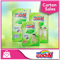 [FREE GIFTS!! 1Pack GOO.N Wipes]★GOON★ GOO.N Cheerful Baby Pants x 3packs