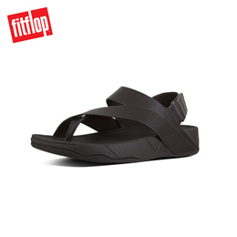 95ade6a03453  NEW  FITFLOP SLING PERF MENS LEATHER SANDAL CHOCOLATE ☆100% Authentic☆