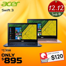 Latest 8th Gen laptop!!Acer Swift 3 (SF314-52) - 14-Inch | i5-8250U | 8GB DDR4 | 256GB SSD | W10|2 Years Warranty|Available In 2 Colours