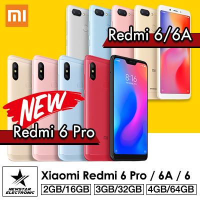 Xiaomi Redmi 6 PRO Redmi 6 Redmi 6A Deals for only S$399 instead of S$0