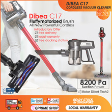 [Official Seller] Dibea Cordless Lithium High Powered C17/ F6 Duo Cyclone Upright Vacuum Cleaner