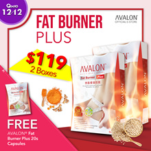 FREE 20 CAPS! $119 for 2! Award Winning Safe Slimming Avalon Fat Burner Plus 5x stronger
