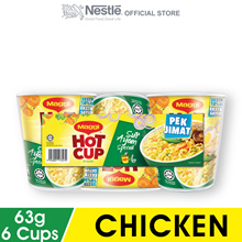 MAGGI Hot Cup Chicken 6 Cups 63g Each