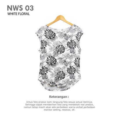 NWS 03 WHITE FLORAL