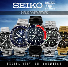 Seiko 5 Sports Automatic Mens Diving Watches SKX SNZH SNZF SERIES