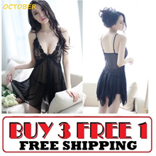 [LAZY B] SEXY LINGERIE DISCOUNT Good Quality PROMOTION Thong Stocking Cosplay Sleepwear Pyjamas