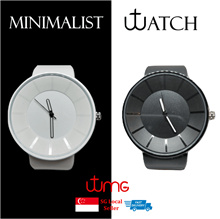 ⚡CRAZY SALE⚡Watch★Casual Watches★Minimalist★Timeless Design★Black★White★Rubber Strap★Light Weight★