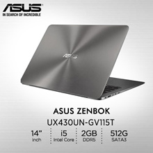 Asus: UX430UN-GV115T/14.0 /Intel® Core™ i5-8250U processor 1.6 GHz/ GDDR5 2GB