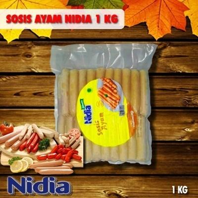 Nidia Sosis Ayam Breakfast 1Kg