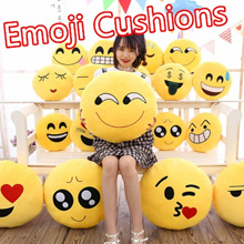 [SALE]Childrens Day Gift /Emojis Cushions/Pillows/Soft Toys/Cushions/Sofa Cushions