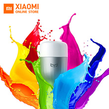 Original Xiaomi Yeelight LED Smart Bulb (Color) E27 9W Light Smart Phone WiFi Remote Control
