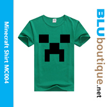 Minecraft Creeper T-shirt  MC004