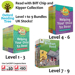 Oxford Reading Tree: Read with Biff Chip and Kipper Collection: Level 1 to 9 Bundles