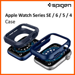 Spigen Apple Watch Series SE / 6 / 5 / 4 Case Apple Watch Casing Cover Apple Watch Screen Protector