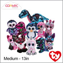 TY Flippables 13in Medium Sequins Beanie Boos
