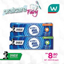Darlie All Shiny White Supreme Toothpaste 120g Asst