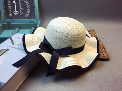 Parent-Child Korean Version INS Lace Hat Female Summer Beach Fisherman Hat Folding Sunshade Sun Hat SA-95