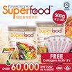 2 x Kinohimitsu Superfood 500g - FREE Kolagen Activ 5s ♥ Delicious Nutritional Beverage ♥