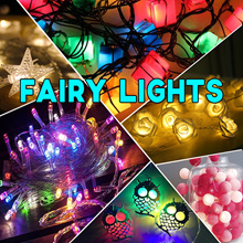 【Many Designs】Multi Colored LED Fairy Light / String Lights / Festival / Party / Event Decorations