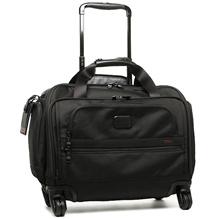 Tumi bag TUMI 22652 D 2 4 WHEELED COMPACT DUFFEL suitcase · carry bag BLACK