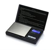 Queenbest New Pocket Digital Weight Scale Jewelry Gold Weed Gram 1000g By 0.1g Balance Scale