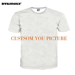 authentic Dykhmily Custom 3d Full Print T-shirt Men  O-neck Best Ployester Quality Plus Size 3d Prin
