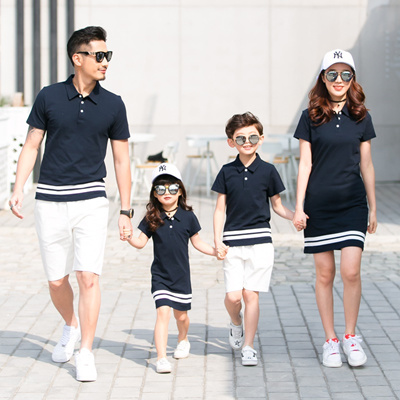 c2612830375 1pc Family Matching Outfits Twinning Mother and Daughter Clothes Mom  Daughter Dresses Daddy Girl Fat