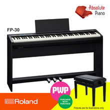 Roland Digital Piano FP-30 | Digital Piano | COMPACT SIZE HIGH-END ROLAND PIANO PERFORMANCE