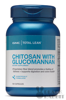 【Weight Control】GNC Total Lean Chitosan with Glucomannan 120 caplets EXP 2020