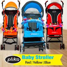 Pliko Techno 108_Baby Stroller_Kereta Dorong Bayi_Free Ongkir Jabodetabek
