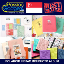 【Instax Album】2NUL/2NAN Instax Mini Album◆Polaroid Photo albums mini Color Hello Kitty Albums FUJI 7