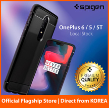 OnePlus 6 / 5T / 5 One Plus 3T / 3 Casing Case Screen Protector 100% Spigen Authentic Fast Delivery
