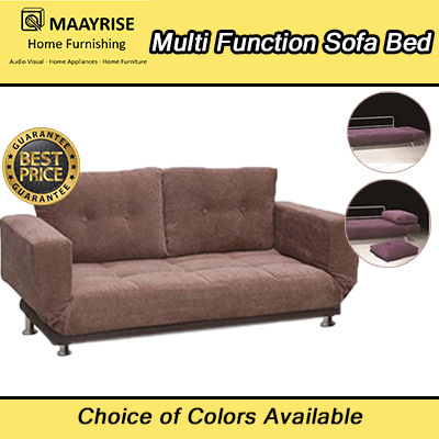 New Launch Offer Quality Multi Function Sofa Bed Available Sturdy Structure Metal Legs
