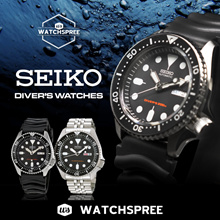 *APPLY 25% OFF COUPON* [SEIKO] Seiko Automatic Diver Watch Series! Free Shipping and 1 Year Warranty
