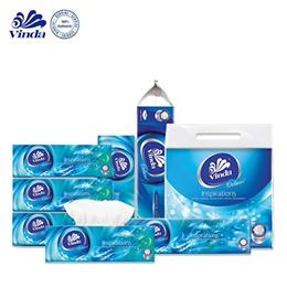 [Apply Q10 Coupon] Vinda Deluxe Full Range / Toilet Roll/ Soft Pack Facial Tissue / Tissue Box