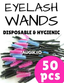 😍  HIGH QUALITY !  😍  50pcs Disposable Eyelash Wands Mascara Brush   😍