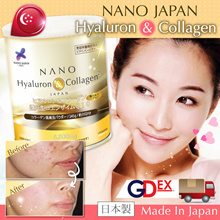 [RM10 CASH REBATE* IN THIS 冬至 CELEBRATION!] JAPAN #1 NANO COLLAGEN •WHITENING SKIN LIFT BUSTLINE STRONGER HAIR •高效美肌提升胸部膠原蛋白 ★RESULTS GUARANTEED •5500mg UPGRADED ♥ Made In Japan